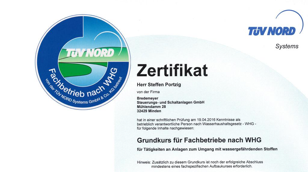 TÜV Siegel - Zertifizierter Betrieb